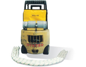 Forklift oil and fuel spill kit 66 litres