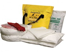 Spill kit - oil and fuel medium truck 58L