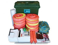 Large marine spill kit 875 litre absorbent capacity