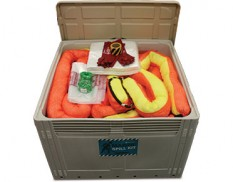 Large marine spill kit 855 litre absorbent capacity