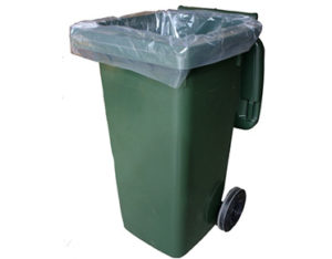 Bin liner for 120L wheelie bins