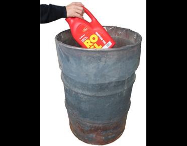 Disposal bag for 205L drums