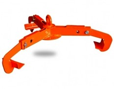 Forklift drum lifter for single 205L drum
