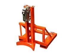 Forklift drum grabs for single 205L drum