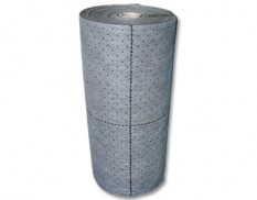 Universal absorbent rolls - perforated and lint-free