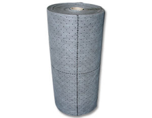 Universal sorbent rolls - perforated low lint
