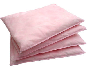 Chemical absorbent pillows - large