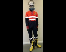Flammable liquids PPE pack for oil and fuel spill kits