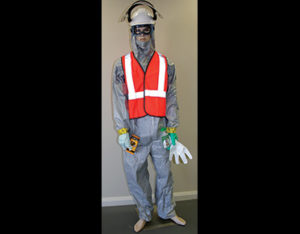 Aggressive chemicals PPE pack for hazchem spill kits