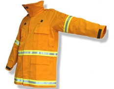 Flame retardant coat - Wildland Gold