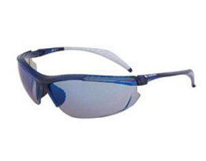 Safety glasses - blue mirror lens