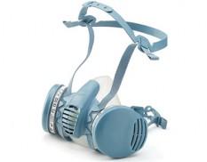 Profile half-face respirator