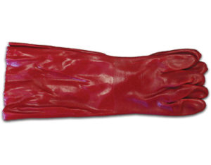 PVC gloves - 450mm