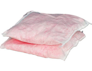 Chemical absorbent pillow - small