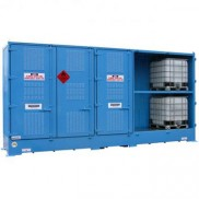 Dangerous goods stores for drums and IBCs