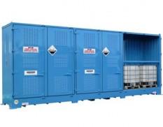 Relocatable dangerous goods stores - 12 pallet IBC