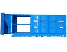Relocatable IBC store - 24 pallet IBC double depth