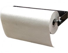 Absorbent roll dispenser - horizontal