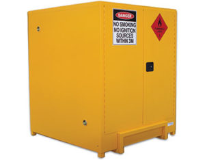 Flammable liquidsi safety cabinet - 850L pallet sized
