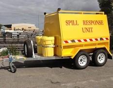 Spill response trailer - tandem axle