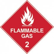 Dangerous goods diamond signs