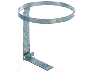 Bin bracket for bird-proof litter bin