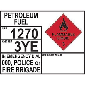 Emergency information panels