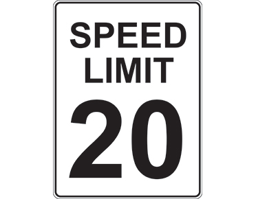 speed limit signage text traffic signs made by global spill control