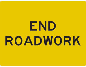 end roadwork