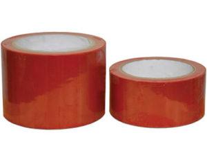 Red floor marking tape