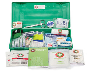 Portable first aid kit - K2000