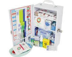 Wall-mounted metal first aid kit - K700