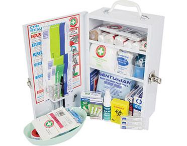 Wall-mounted metal first aid kit - K700
