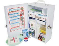 Wall mounted heavy duty first aid kit - K800