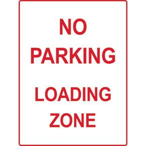 Facilities signs - traffic and parking