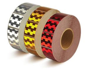 Reflective tarp tape