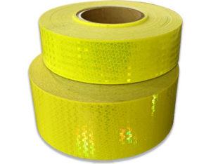 Reflective fluorescent tape