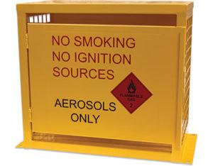Aerosol storage cage - 12 cans