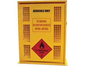 Aerosol safety cage - 132 can