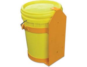 Mounting bracket for truck spill kit