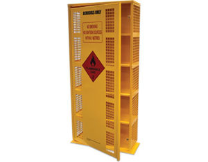 Aerosol can storage cage - 220 cans
