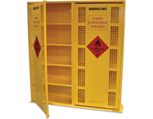 Aerosol spray can storage cage - 440 can