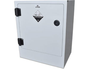 Poly corrosive storage cabinet 50L