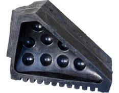 Wheel chock - black rubber