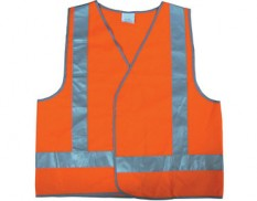 Safety vest - high vis orange