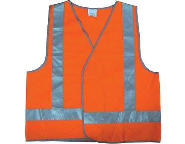 Safety vest - high vis orange