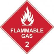Dangerous goods diamond signs
