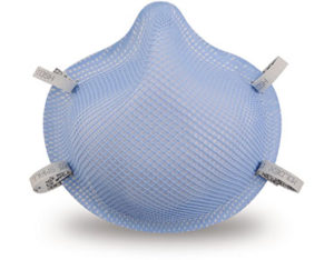 Surgical face mask - disposable healthcare respirator - small