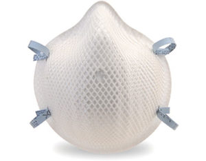 P2 disposable unvalved respirators
