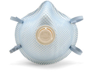 P2 disposable valved respirators